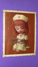 "MARK RYDEN POSTCARD (Tree Show) NURSE SUE  ... 5"" x 6.5"""