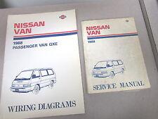 1988 Nissan Van Service Repair Manual Set Model C22 Series