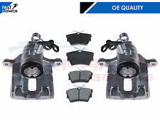 FOR RENAULT TRAFIC VAUXHALL VIVARO REAR LEFT RIGHT BRAKE CALIPERS BRAKE PADS 01-