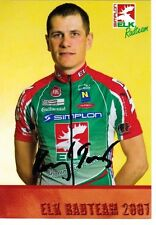CYCLISME carte cycliste TOMAS KONECNY équipe ELK RADTEAM 2007