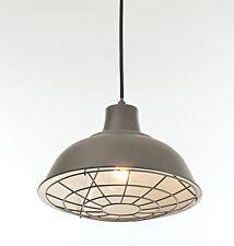Satin gris anthracite industrielle plafonnier pendentif cafe restaurant bar nouveau