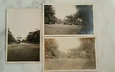 Antique Picture Postcards of An Early Ford Car