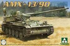 Takom Models 1/35 AMX-13/90 French Light Tank Plastic Model Kit 2037