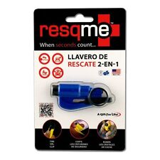 RESQME 2 in 1 Keychain Rescue Tool Blue Retail