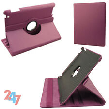 Leather Smart Cover For Apple iPad Stand Holder 360 Degree Rotating Case E033