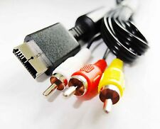 PLAYSTATION 3 PS PS3 COMPOSITE AV AUDIO VIDEO RCA LEAD CABLE 1.8 Metre UK Seller