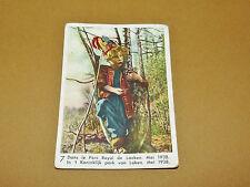 CHROMO 1939 CHOCOLAT COTE D'OR ENFANTS ROYAUX BELGIQUE 7 LAEKEN 1938