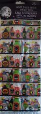 New Halloween Treat Bags Cello 25 Count Pack ~ Halloween Science Bottles