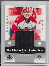 10-11 SP Game Used Tomas Vokoun Authentic Fabrics Jersey