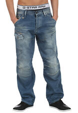 "G-Star Raw Mens General 5620 Loose Jeans 28"" x 30"" BNWT Nitro Denim Sun Bleached"