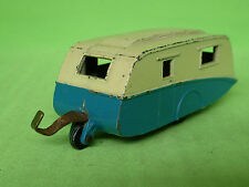 DINKY TOYS 190 CARAVAN TRAILER BLUE 1/43 - GOOD CONDITION