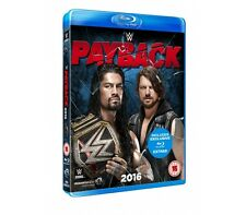 WWE Payback 2016 [Blu-ray] NEU Region Code B AJ Styles vs. Roman Reigns