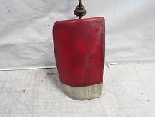2000 GMC Jimmy SLT Tail light left driver brake light assembly lens hazed