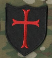 JSOC ELITE SEAL SPECIAL WARFARE DEVGRU OPERATOR VELCRO INSIGNIA: Shield Cross b