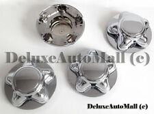"7"" WIDE Chrome New Wheel Center Caps for Ford F150 Ford Expedition - (Set of 4)"