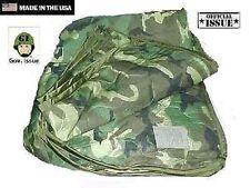 US Army USGI Woodland camouflage Outdoor Decke Liner poncho liner woobie blanket