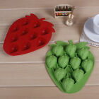 DIY Cute Strawberry Cake Mold Soap Flexible Silicone Mould For Chocolate Cake L