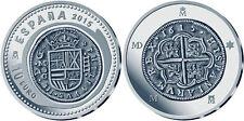 ESPAÑA: 10 euro plata 2015 JOYAS NUMISMATICAS Ceca de Madrid - Spain silver