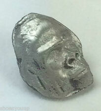 Small Gorilla Head Quality Handmade UK Pewter Lapel Pin Badge