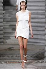 SUPER FIERCE: Jay Ahr White Mesh Studded Wave Mini Skirt NWT SzXS/UK6 £900