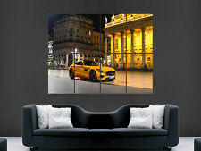 MERCEDES AMG SUPERCAR FAST    GIANT WALL POSTER ART PICTURE PRINT LARGE
