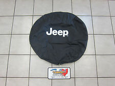 2007-2016 Jeep Wrangler and Jeep Liberty Spare Tire Cover Mopar OEM