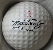 (1) CARY MIDDLECOFF SIGNATURE LOGO GOLF BALL (CIR 1963 - VULCANIZED) #3