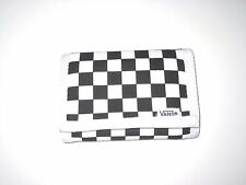 Vans Shoes Authentic Off The Wall Slipped Tri-Fold Checkerboard Velcro Wallet