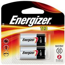 CR123A Lithium Energizer Batteries 2/Pack, EXP 2026, 1500mAh 3V Photo EL123A