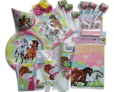 Charming horse pony party 8 children invites plates cups etc birthday pack