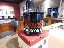 Genuine Indian Motorcycle Scout Mug Enamel Mug Red / Black 17oz