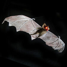 Lighted Vampire Bat Flying Halloween Party Decoration Haunted House Prop 31""