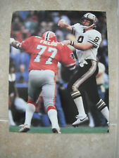 Archie Manning New Orleans Saints Football Color Candid Coffee Table Book Photo