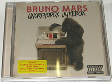 BRUNO MARS CD Unorthadox Jukebox EXPLICIT Brand New Locked Out Of Heaven Young