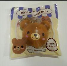 Mini Puni Maru Animal Bun Squishy Bear