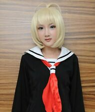 Ao No Blue Exorcist Shiemi Moriyama Cosplay short blonde Wig