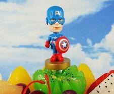 Cake Topper Marvel Superheros Avengers Captain America Toy Model Figure K1122_A