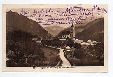 SUISSE SWITZERLAND canton FRIBOURG CHARMEY eglise et gastlosen
