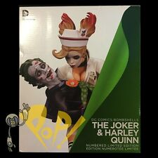 Bombshells HARLEY QUINN & JOKER Statue DC Collectibles NUMBERED 1st Edition!