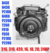 Onan Engines 316, 318, 420, B43E, B43G, B48G, F910 Service Manual Repair Manuals
