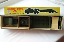 Dinky 660 Tank Transporter. About Mint. Issued 1956-63