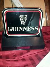 Gold Guinness Beer Harp clock Bar LED edgeless Light Sign USA Seller