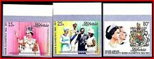 LIBERIA 1977 QEII ROYALTY imperforated MNH ARMS (K-J18)