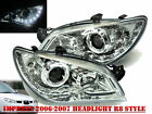 Impreza 2006-2007 06-07 Projector HEADLIGHT DRL LED R8 WRX STI Chrome for SUBARU