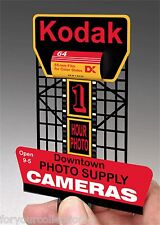 Miller's Kodak  Animated Neon Sign O/HO Scale  #88-0901 Miller Engineering