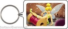 Tinkerbell Tinker Bell Fairy Sewing Spool Thread Clumsy Keychain Disney New