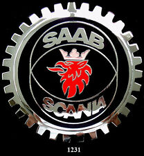 CAR GRILLE EMBLEM BADGES -  SAAB