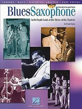 Blues Saxophone Styles Of The Masters Learn to Play Alto Sax Music Book & CD