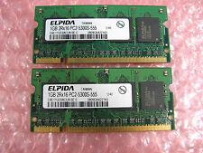 2GB (2x1GB) PC2-5300 DDR2 Laptop Memory, Dell Latitude D830 D820 D631 D630 D620