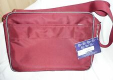 Red CARLTON Cross Body MESSENGER PADDED LAP Top BAG RRP £45